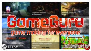 Бесплатная раздача конструктора игр GameGuru в Steam