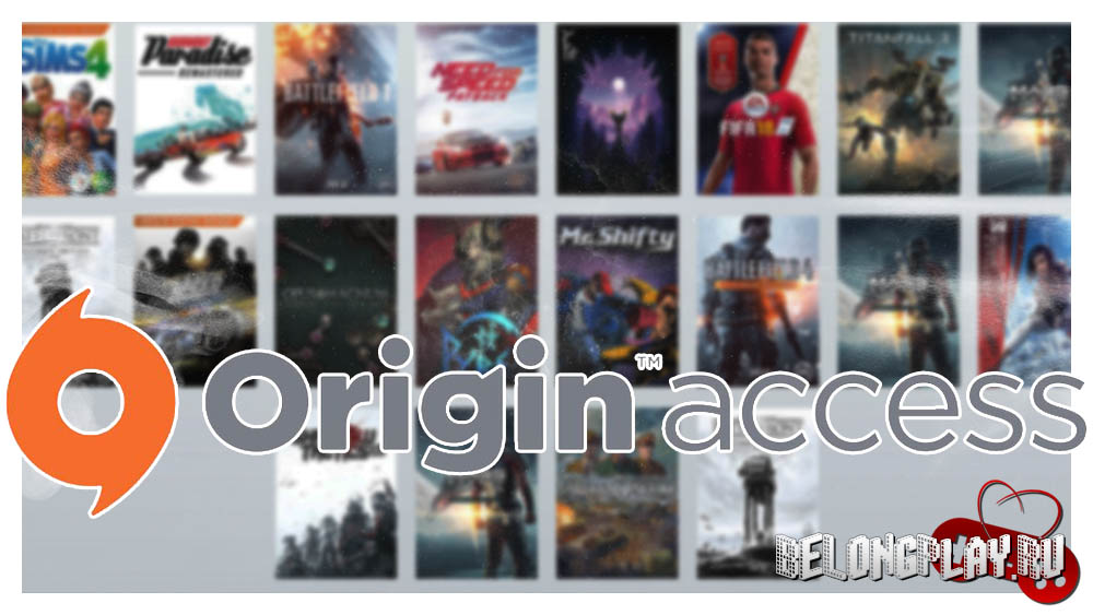 Origin Access logo art wallpaper