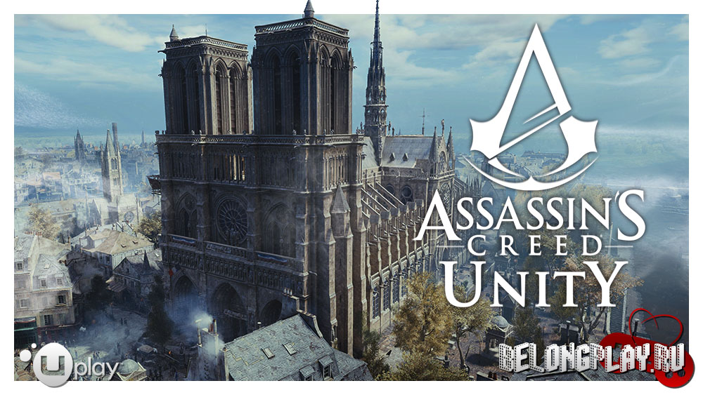 Assassin's Creed Unity game art logo wallpaper