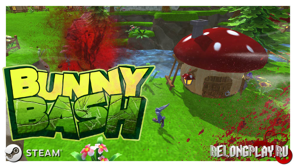 BUNNY BASH game free steam itch logo art wallpaper