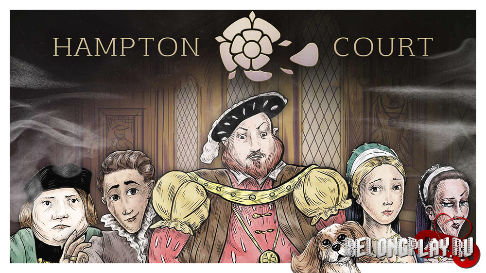 Hampton Court game art logo wallpaper