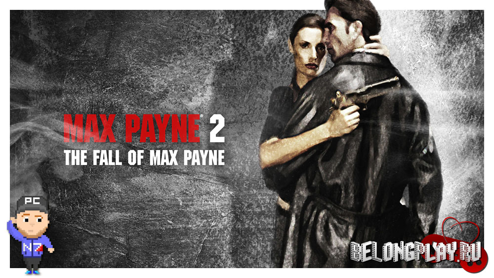 MAX PAYNE 2 game art logo wallpaper