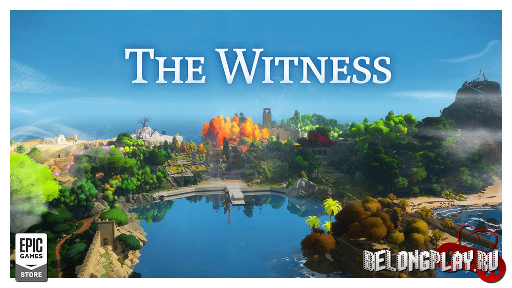 The Witness art wallpaper game