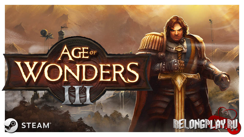Age of Wonders III Logo game art wallpaper
