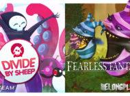 Раздача игр Divide by Sheep и Fearless Fantasy в Steam