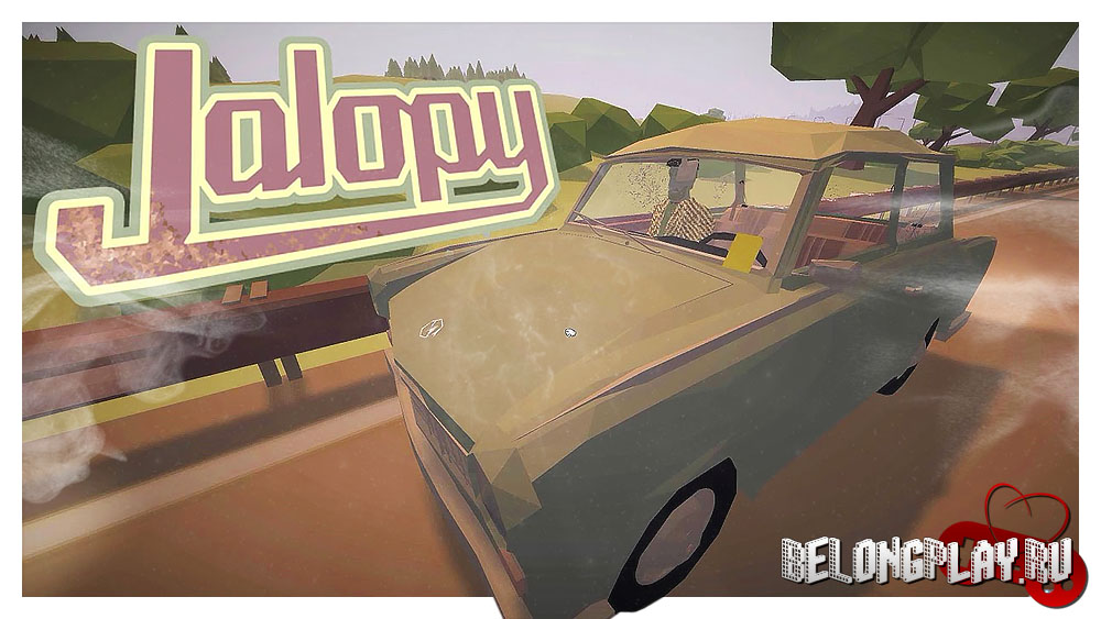 Jalopy game art logo wallpaper
