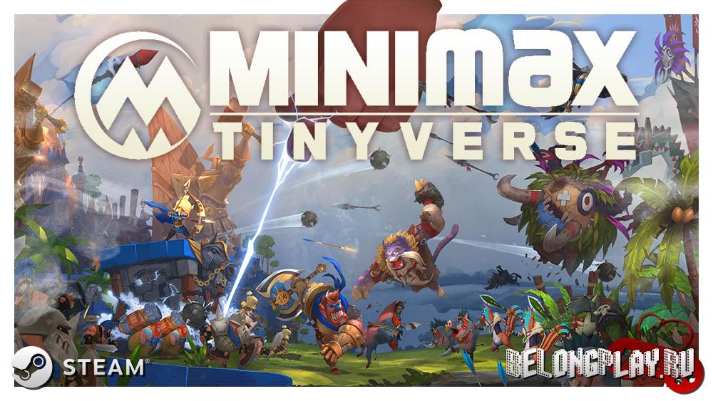 MINImax Tinyverse art logo game wallpaper