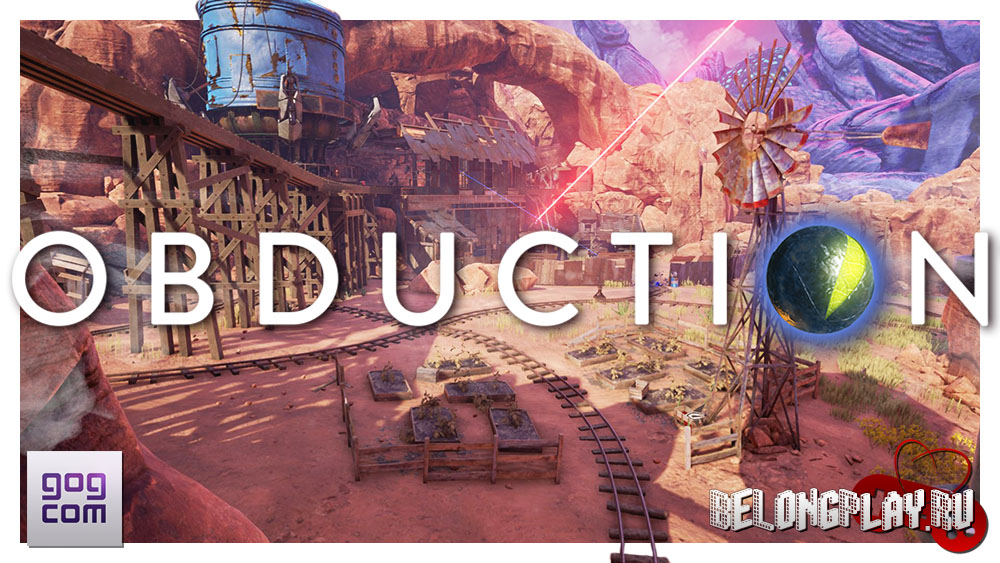 Obduction logo art game wallpaper