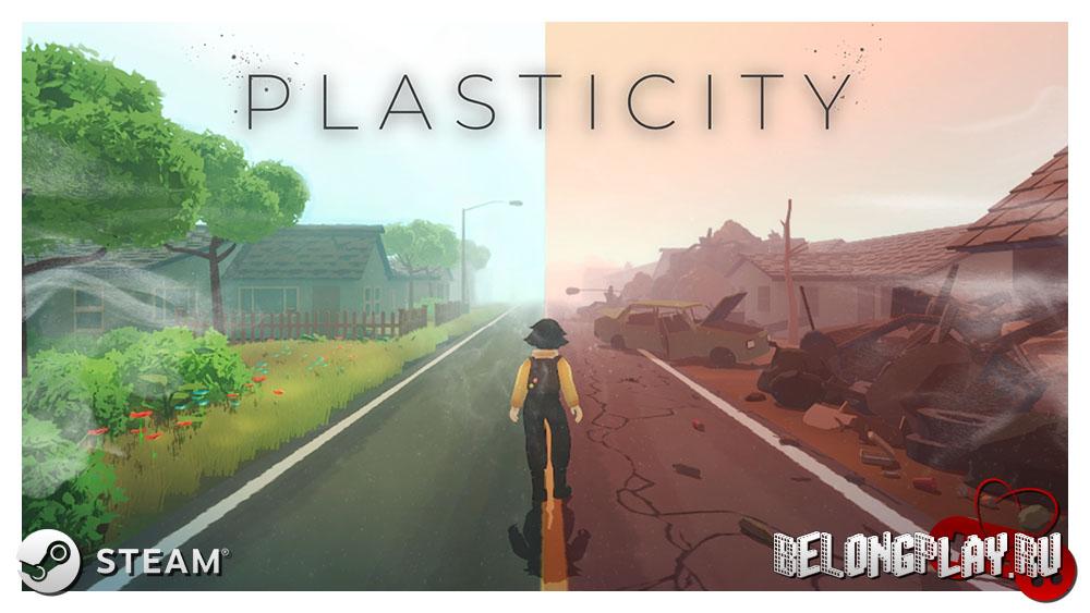 Plasticity game logo art wallpaper