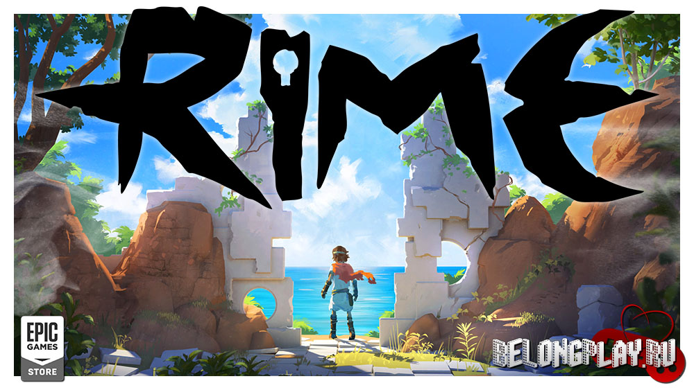 RIME art logo wallpaper