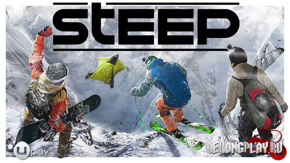 Steep game art logo wallpaper