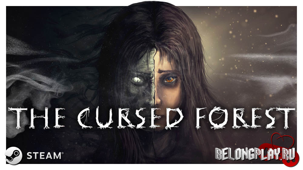 The Cursed Forest game aart logo wallpaper