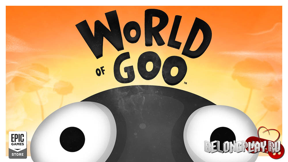 World of Goo art game wallpaper logo
