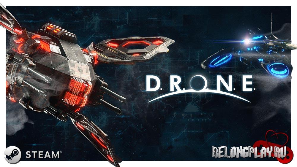 DRONE the game art logo wallpaper