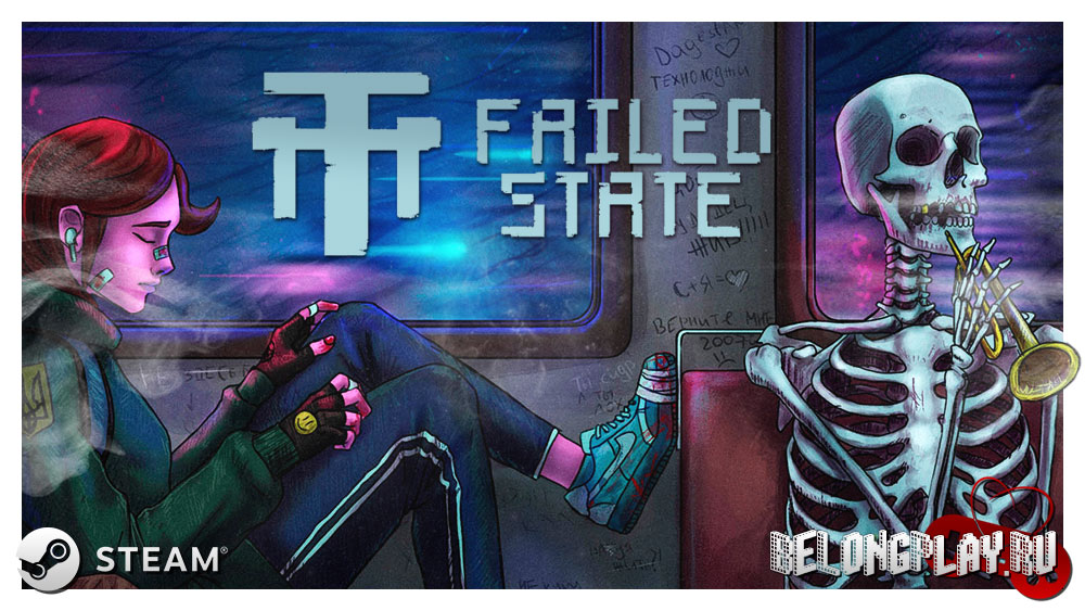 Failed State logo game art wallpaper