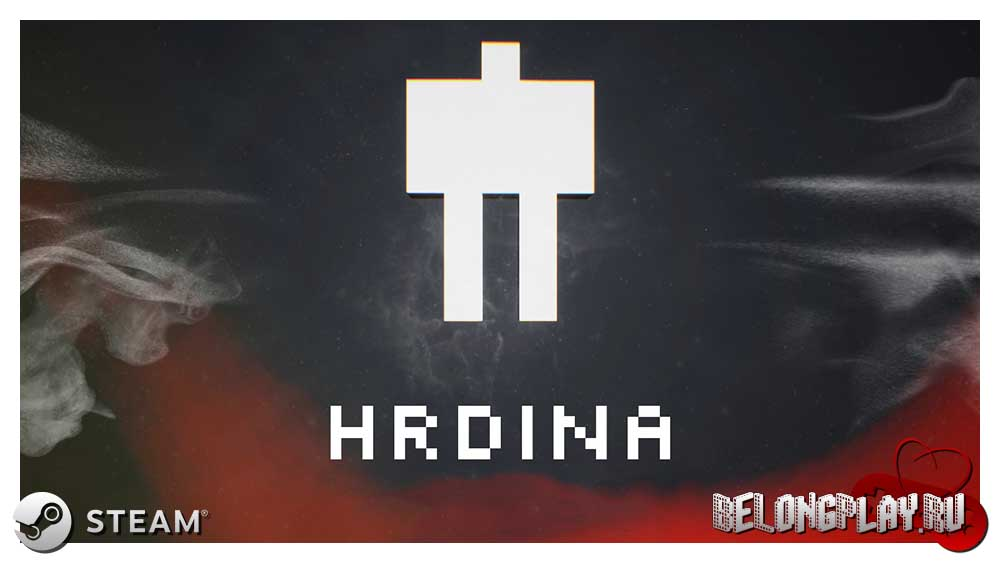HRDINA game art logo wallpaper
