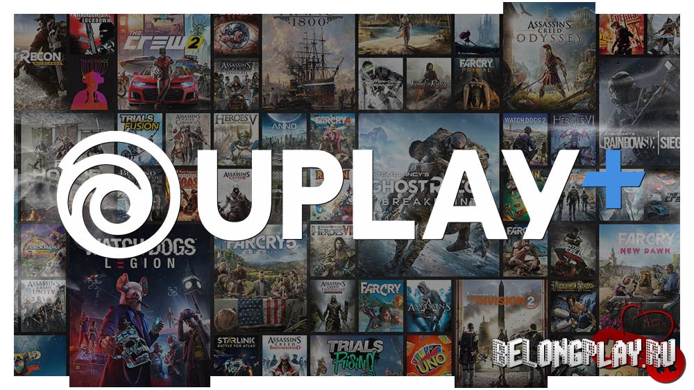 UPLAY+ logo games free
