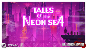 Tales of the Neon Sea art logo game wallpaper