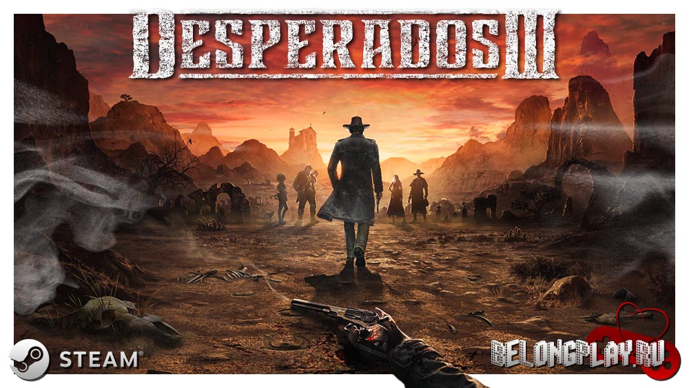 Desperados III art game logo