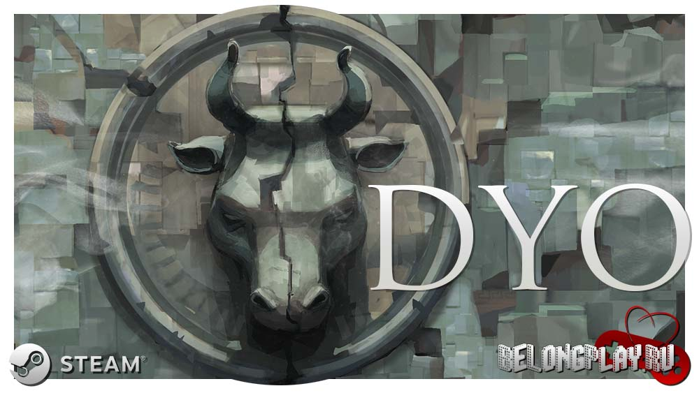 DYO steam game logo wallpaper