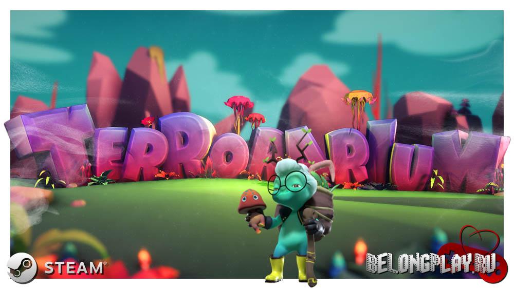 Terrorarium game logo art wallpaper