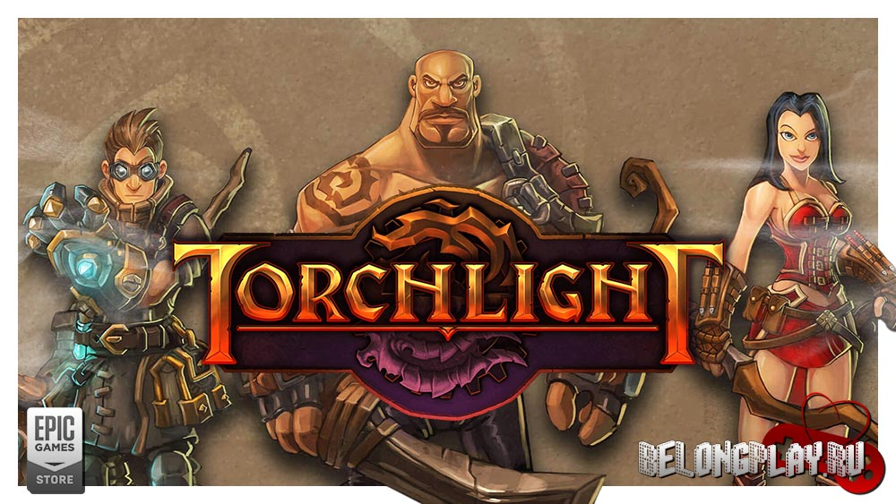 Torchlight art logo wallpaper