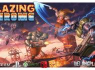 Игра Blazing Chrome – для любителей хардкорного run'n'gun экшна