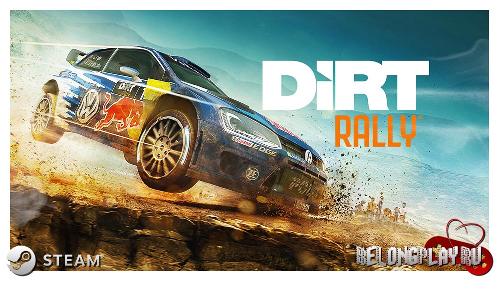 Dirt Rally art game logo wallpaper