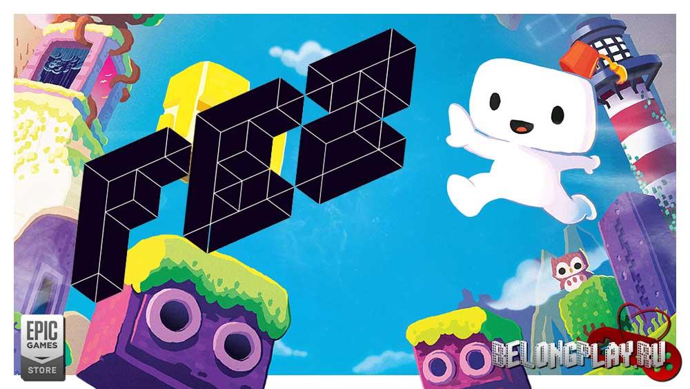 FEZ logo game wallpaper