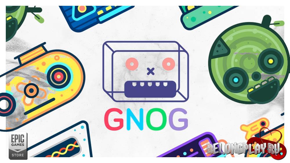 GNOG art logo wallpaper