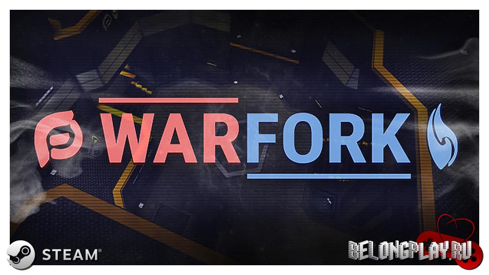 Warfork game logo art