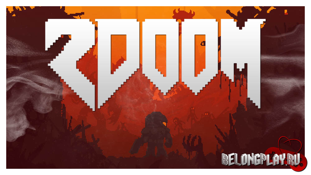 2DOOM wallpaper art