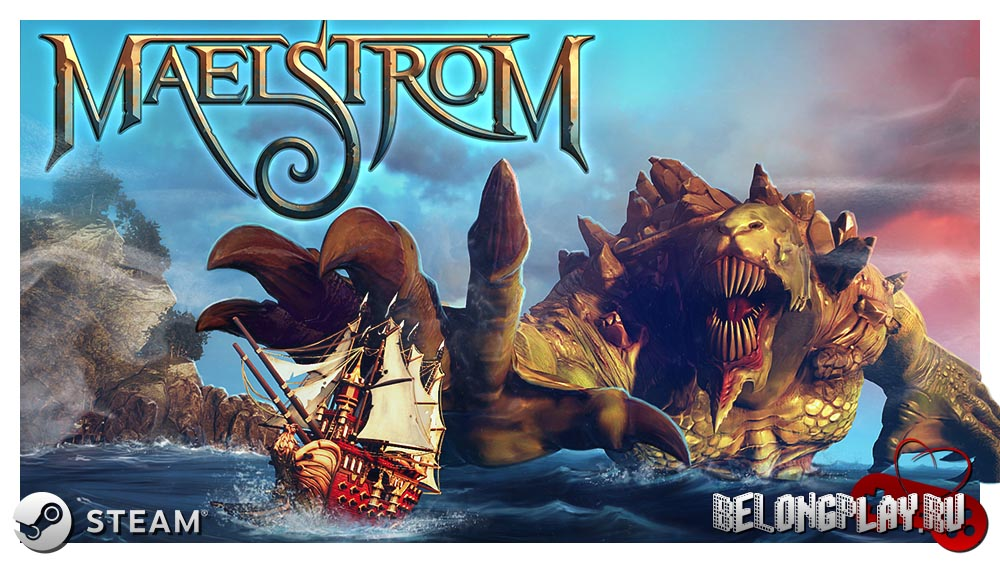 Maelstrom game art logo wallpaper