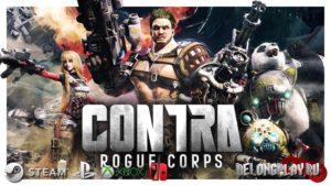 Превью обзор CONTRA: Rogue Corps – квартет из пуль и пушек