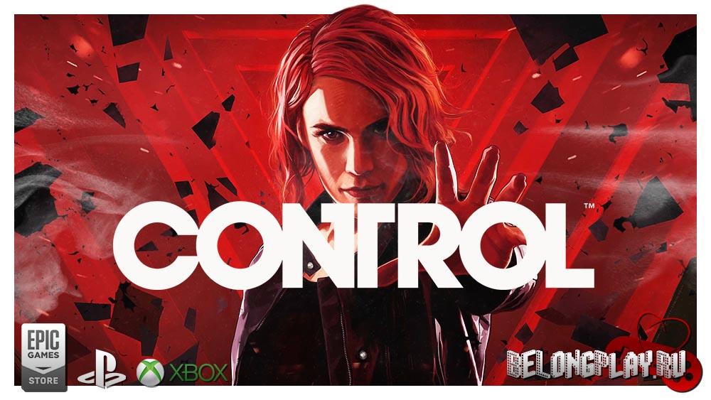 CONTROL game art logo wallpaper