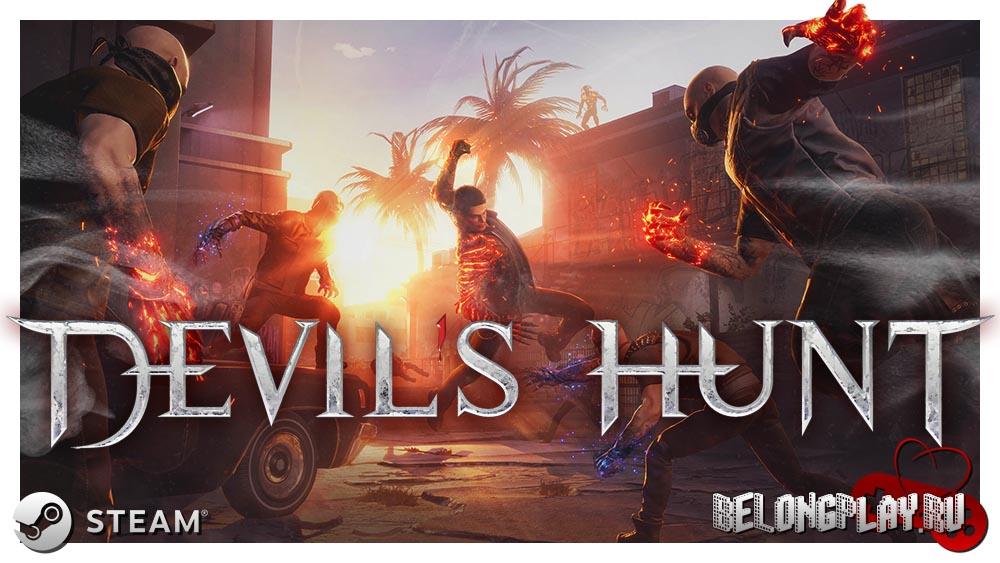 Devil's Hunt logo art wallpaper