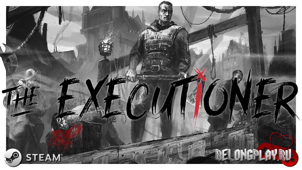 the executioner game art logo wallpaper