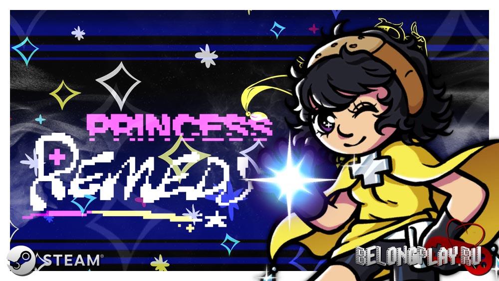 Princess Remedy art logo wallpaper