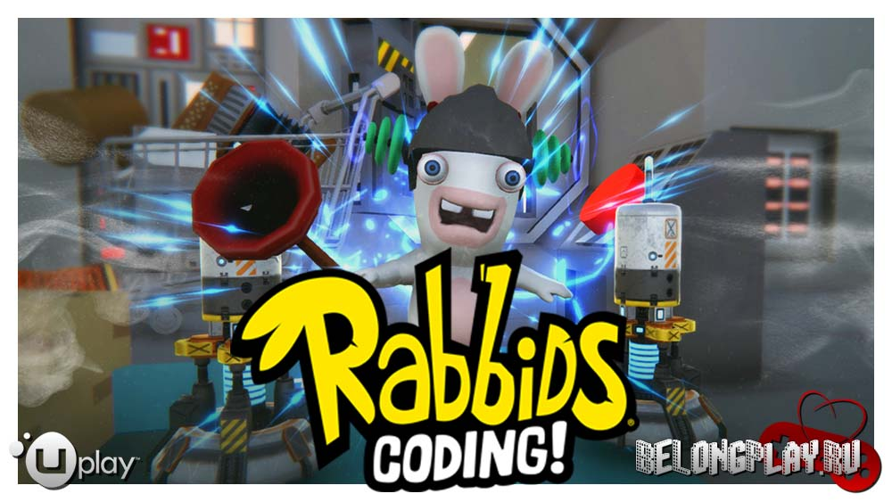 Rabbids Coding art wallpaper logo