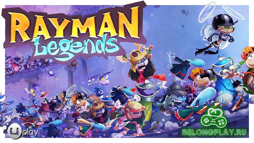 rayman legends wallpaper logo art