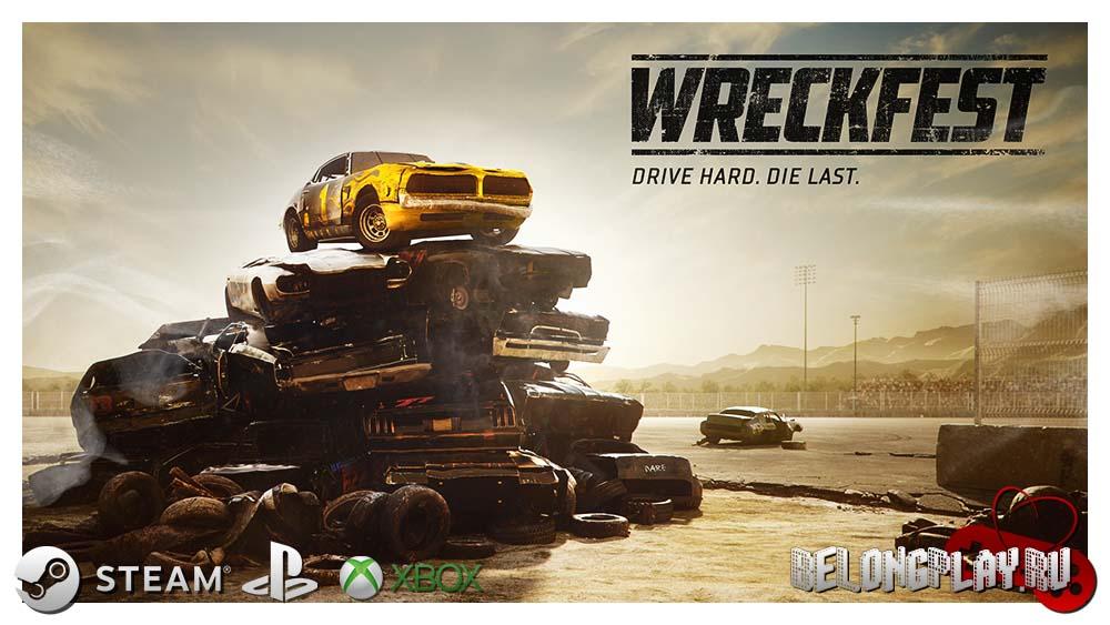 Wreckfest art logo
