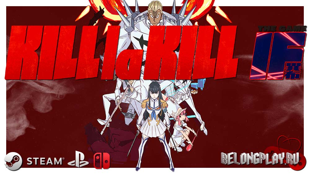 KILL la KILL -IF art logo wallpaper