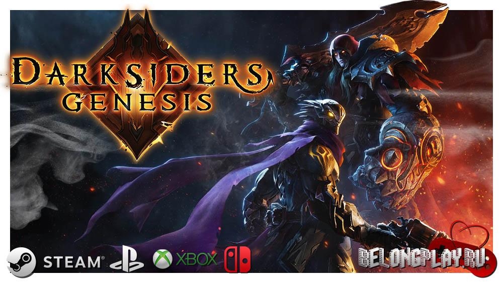 Darksiders Genesis art logo wallpaper