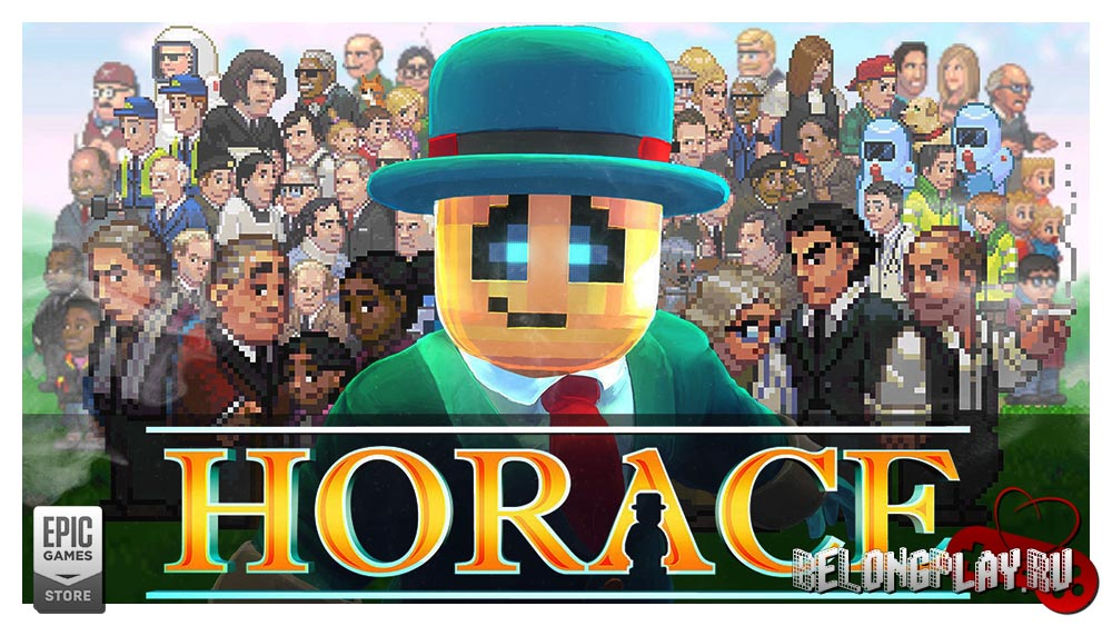 Horace game art wallpaper logo
