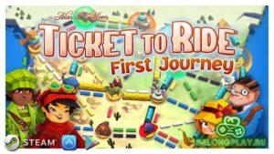 Настольная цифровая игра Ticket to Ride: First Journey стала бесплатной