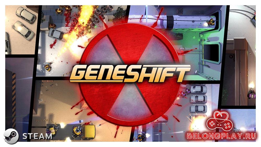 GENESHIFT art game logo
