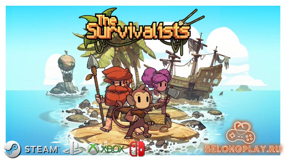 The Survivalists logo art wallpaper