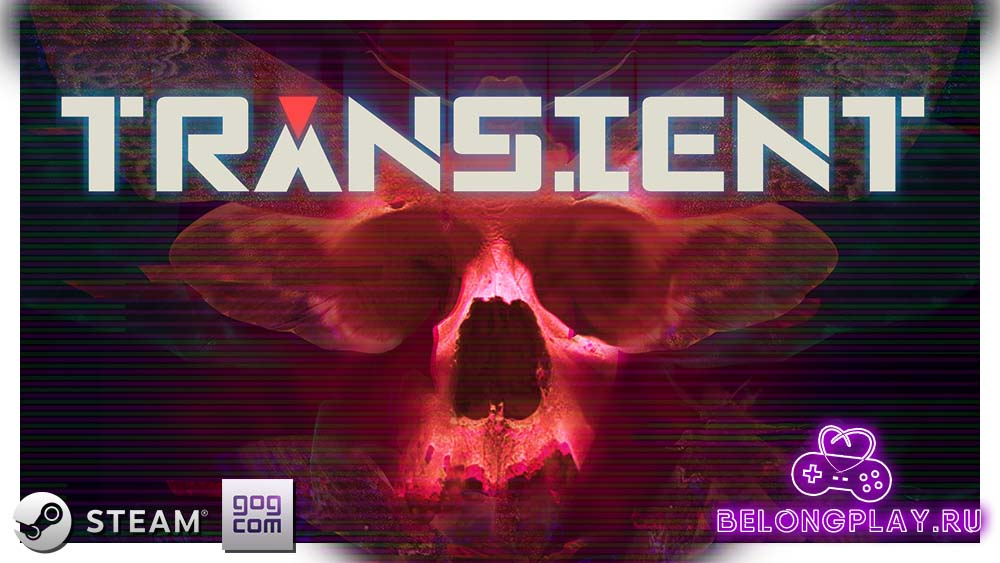 Transient logo art wallpaper