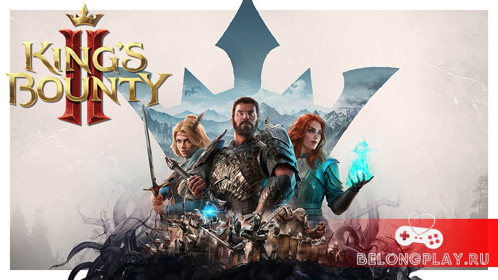 king's bounty 2 wallpaper art logo