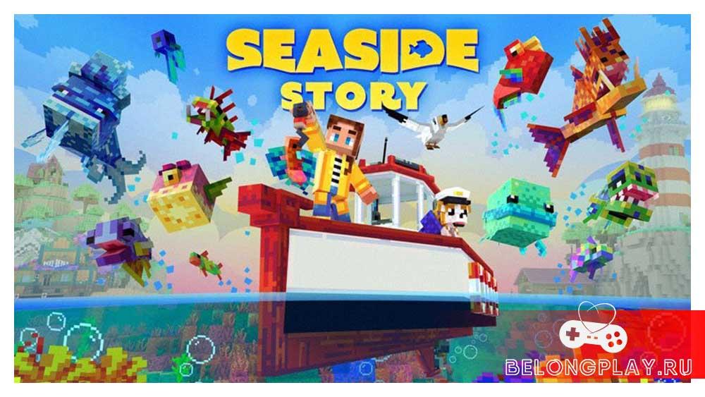 Minecraft SEASIDE STORY